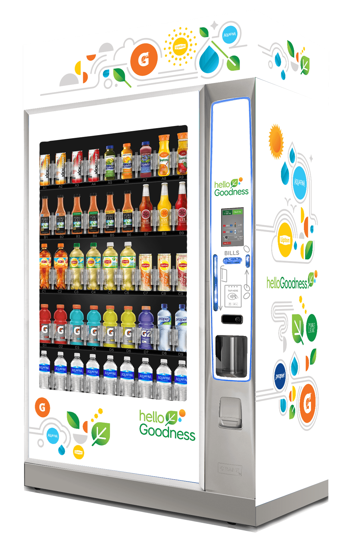 Images of Cold Beverages Vending Machines